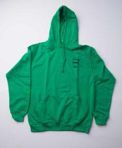 Courthouse School Green Hooded Sweatshirt