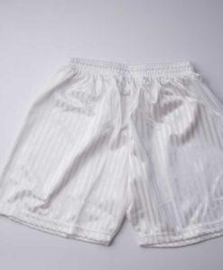 Desborough White PE Shorts