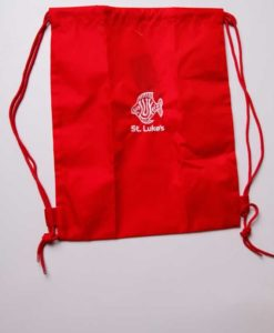St Lukes Drawstring Shoe Bag
