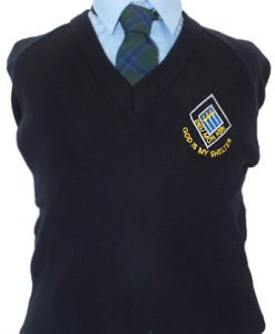St Bernards Navy Jumper