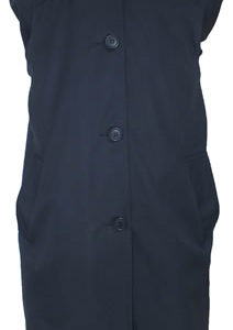 St Bernards Navy Overcoat