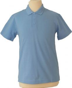 St Bernards Pale Blue Polo Shirt