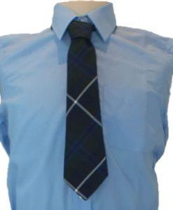 St Bernards Tartan Tie