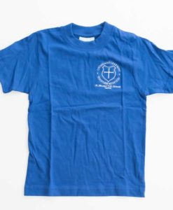 St Nicolas Blue House T-Shirt