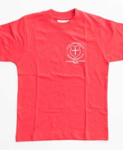 St Nicolas Red House T-Shirt
