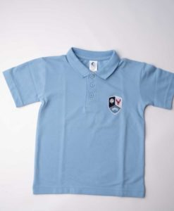 Forest Bridge School Sky Blue Polo Shirt