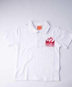 Bisham C of E Academy White Polo Shirt