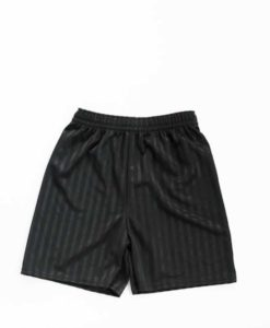 St Edmund Campion Black Stripe Shorts