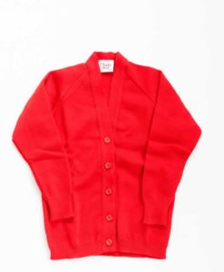 St Edmund Campion Red Cardigan