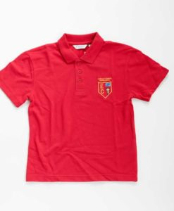 St Edmund Campion Red Polo Shirt