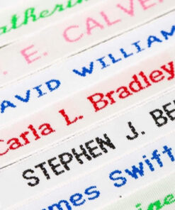 Woven Name Labels | Goyals of Maidenhead